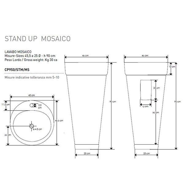 Sketch Cipi Stand Up