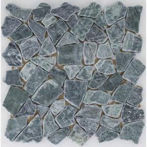 Verde Guatemala Irregular marmorimosaiikki
