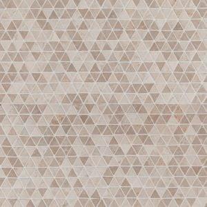 Triangle White Mini marmorimosaiikki
