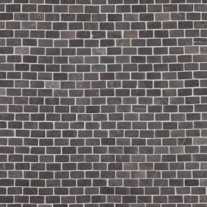 Marmorimosaiikki Brick Grey Mini