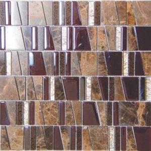 Imperial Brown mosaiikkisekoitus