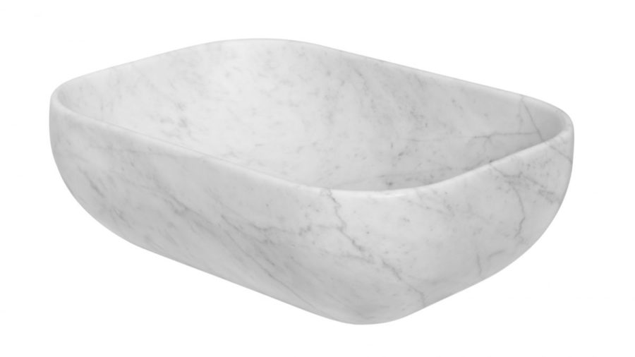 Rettangolo Carrara marmoriallas
