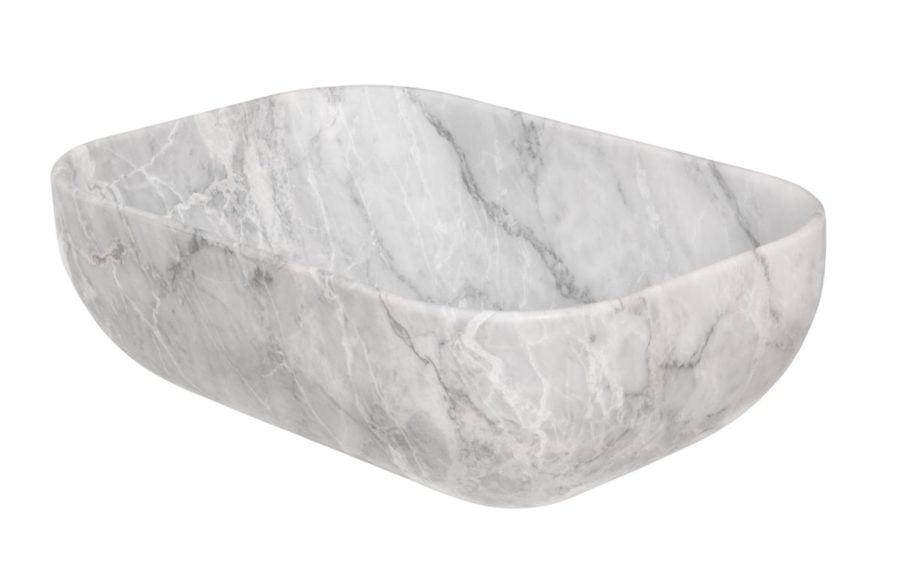 Rettangolo Statuario marmoriallas