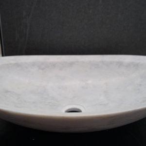 Oval Bardiglio marmoriallas